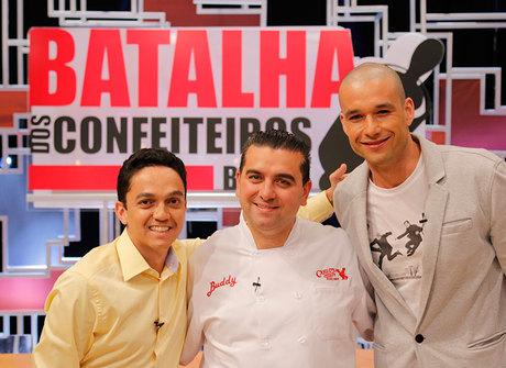 Sergio Marone ajuda a escolher os três finalistas do programa