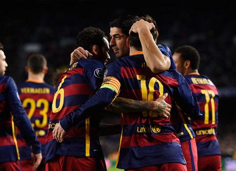 """Barcelona """"imita"""" o Corinthians e faz 6 a 1 pela Liga dos Campeões"""