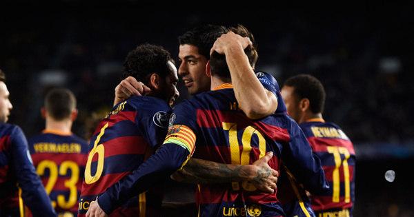 Massacre do Barcelona sobre a Roma marca rodada da Liga dos ...