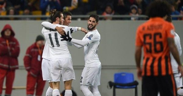 Real Madrid leva susto e PSG goleia na Liga dos Campeões. Veja ...