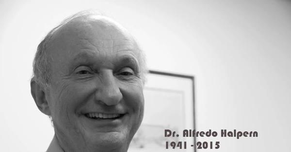 Morre Alfred Halpern, médico consultor do programa Bem Estar e ...