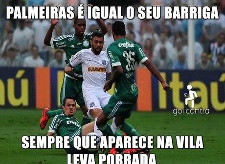 Santos e Palmeiras não escapam dos memes após final. Confira