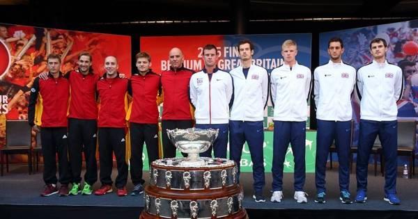 Bélgica e Grã-Bretanha iniciam duelo decisivo na final da Copa Davis