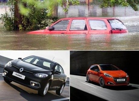 Veja quais são os melhores carros para enfrentar uma enchente