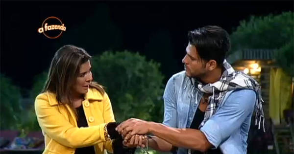 Mara e Marcelo se desculpam antes do anúncio da eliminação ...