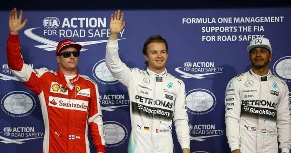 Rosberg leva a sexta pole position da temporada e larga na frente ...