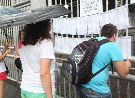 Mais de 140 mil fazem prova da Fuvest neste domingo em SP