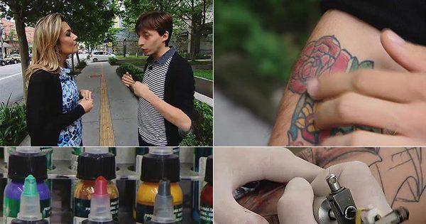 Domingo Espetacular aponta os perigos das tatuagens - Fotos - R7 ...