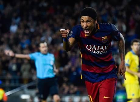 Neymar chega a disputa para ser<br />o melhor jogador do planeta