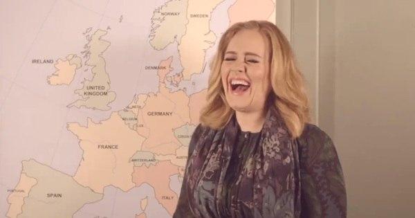 Adele vende 3,38 milhões de cópias do novo CD em apenas uma ...