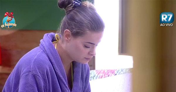 Rayanne relê carta da família e não segura as lágrimas - Fotos - R7 ...