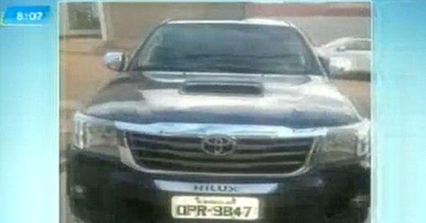 """Ladrão furta caminhonete de R$ 140 mil durante """" test drive ..."""