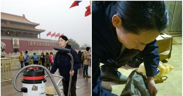 Artista constrói tijolo com poluição que recolheu na capital da China ...