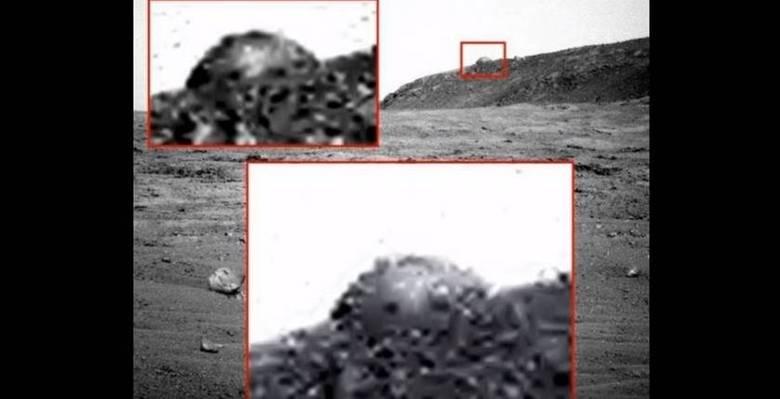 Diversos especialistas em astronomia estão intrigados e não é para menos: o veículo Opportunity filmou o que parece ser um indício de vida alienígena em Marte. A sonda flagrou um domo no topo de uma montanha, que parece ter sido construída por algum tipo de forma de vida inteligente. Intrigante? Fica ainda mais!