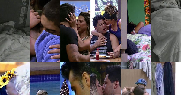Peões da oitava temporada de A Fazenda protagonizam beijos de ...