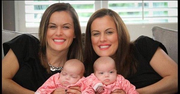 Gêmea idêntica desafia a genética e dá à luz um par de meninas ...