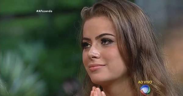 Rayanne Morais é eliminada de A Fazenda. Ana, Douglas e Luka ...