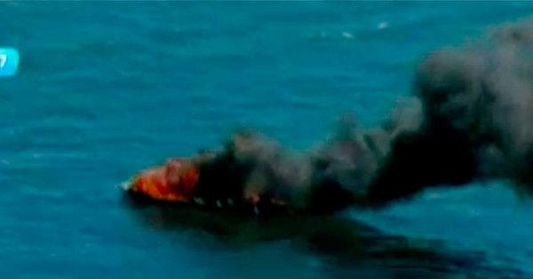 Barco pega fogo na Baía de Todos os Santos - Notícias - R7 Bahia