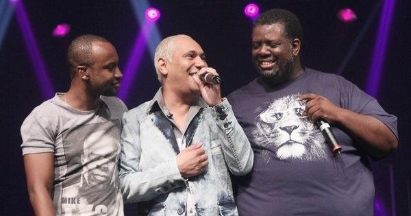 Após o Exaltasamba retornar com três novos vocalistas, Thiaguinho ...