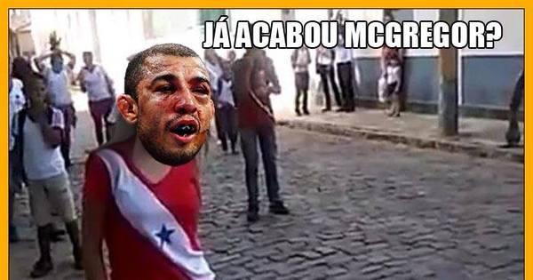 Já acabou, McGregor? Derrota de José Aldo vira alvo dos memes ...