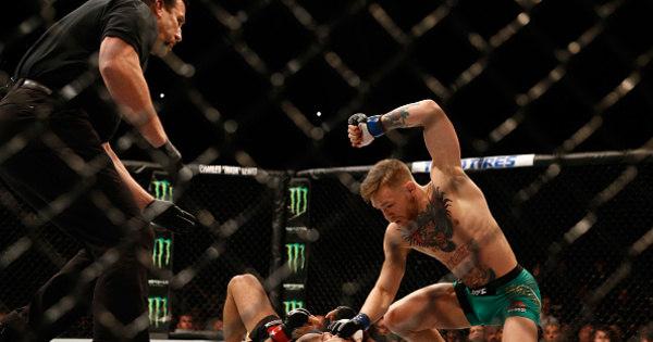 McGregor nocauteia José Aldo e é o novo campeão dos peso-pena ...