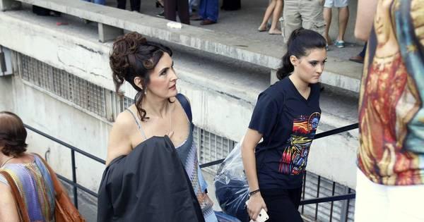Fátima Bernardes e filha se apresentam em companhia de jazz no ...