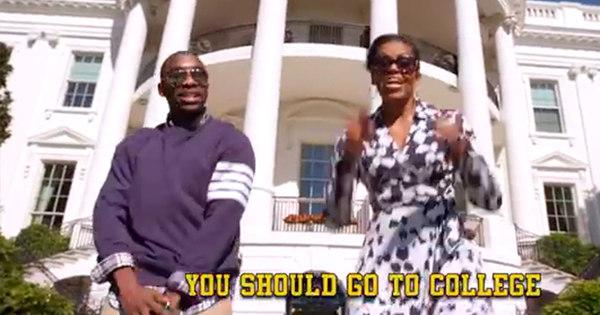 Michelle Obama canta rap em incentivo à educação - Notícias - R7 ...