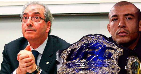 """Isso é sério? Cunha anula derrota de José Aldo no UFC: """"foi golpe e ..."""