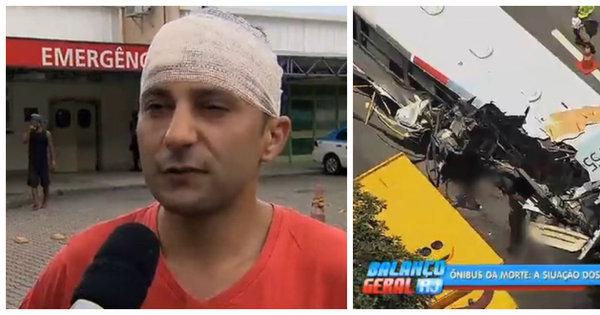 """Rio: """"Deus me deu mais uma chance"""", diz sobrevivente de acidente ..."""