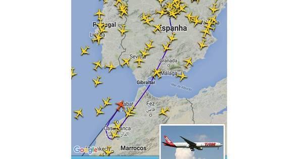 Ameaça de bomba interrompe voo da TAM Madri-São Paulo ...