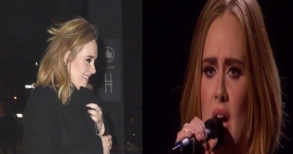 Adele surpreende e aparece com cabelo mais curto em programa ...