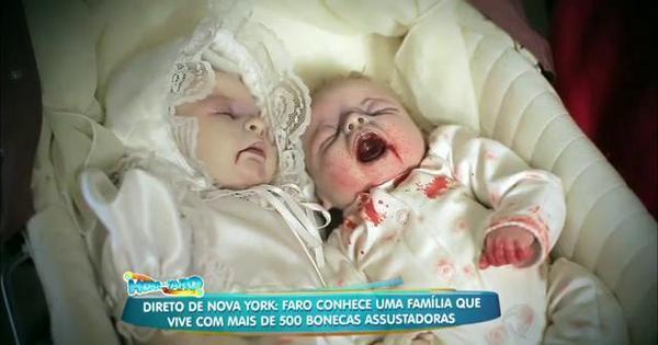 """Assustador: mulher transforma bonecas em """"bebês zumbis"""" que ..."""