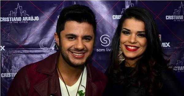 """Mari Antunes fala de parceria com Cristiano Araújo: """"Pensei em não ..."""