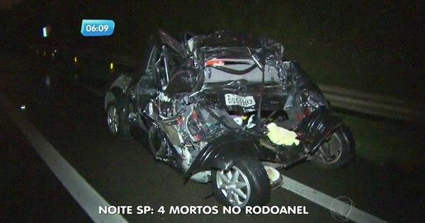 Quatro pessoas morrem em grave acidente em São Bernardo ...