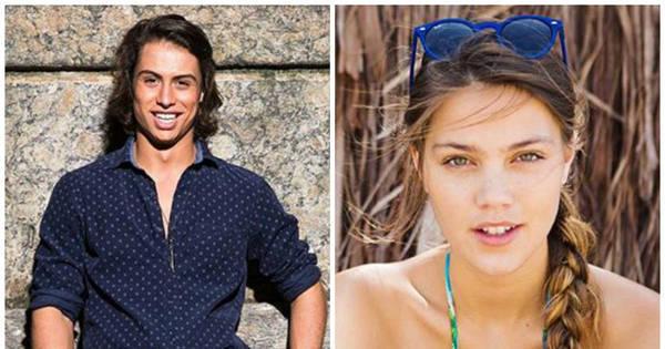 Francisco Vitti e Pâmela Tomé formam o novo casal de Malhação