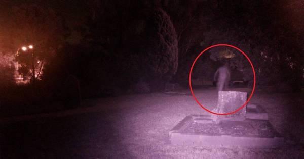 """""""Vulto"""" assombra foto de cemitério e intriga a web. Veja outras ..."""
