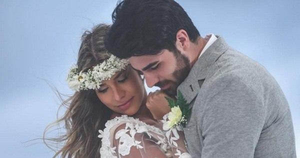 Apaixonada! Adriana Sant'Anna relembra dia do casamento e se ...