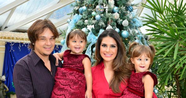 Natália Guimarães mostra decoração de Natal feita para as filhas ...