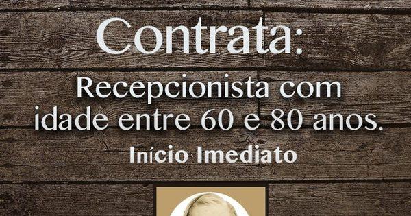 Confraria do DF oferece emprego para vovós que tenham entre 60 ...