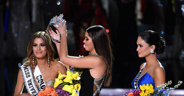 Após apresentador anunciar ganhadora errada no Miss Universo ...