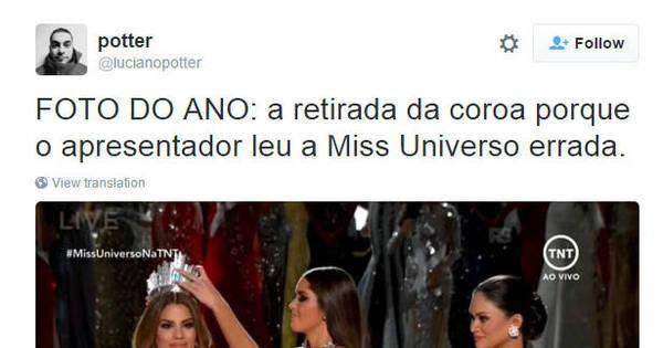 Confusão no Miss Universo vira meme nas redes sociais - Fotos ...