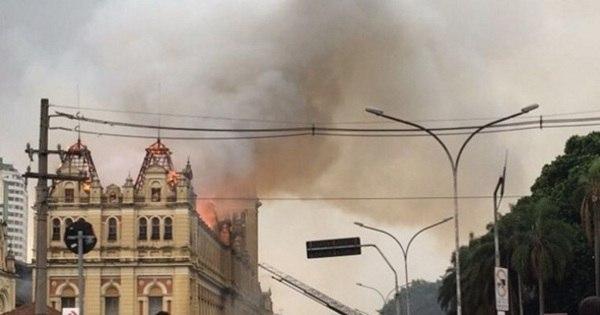 Dan Stulbach se surpreende com incêndio no Museu da Língua ...