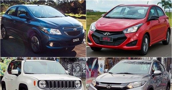 Veja os carros campeões de vendas em 2015 - Fotos - R7 Carros