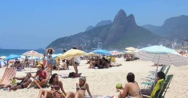 Rio: 1º fim de semana do verão será de calor e com 10 praias ...