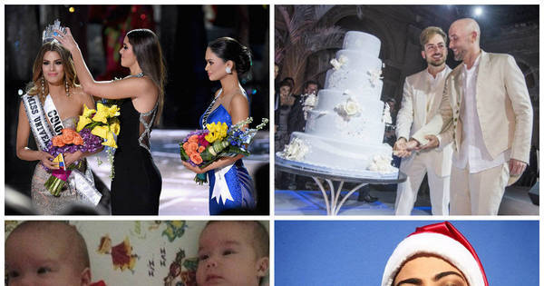 Gafe no Miss Universo, casamento de Paulo Gustavo e Natal dos ...