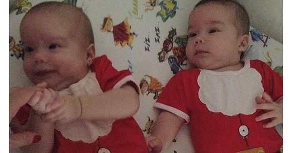 É Natal! Luana Piovani compartilha foto de gêmeos vestidos de ...