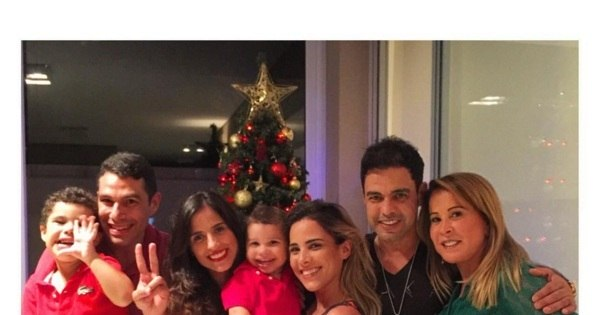 Zezé Di Camargo e Zilu passam Natal juntos ao lado da família e ...