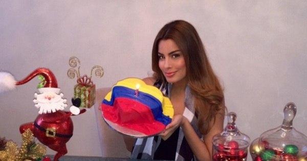 Vítima de erro no Miss Universo comemora aniversário com bolo ...