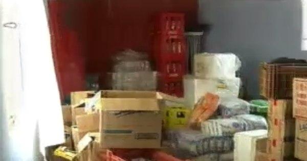 Ladrões roubam carvão e bombom de mercearia para garantir ...