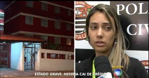 """""""Foi travessura de criança"""", diz mãe de menina que caiu do 5º andar ..."""